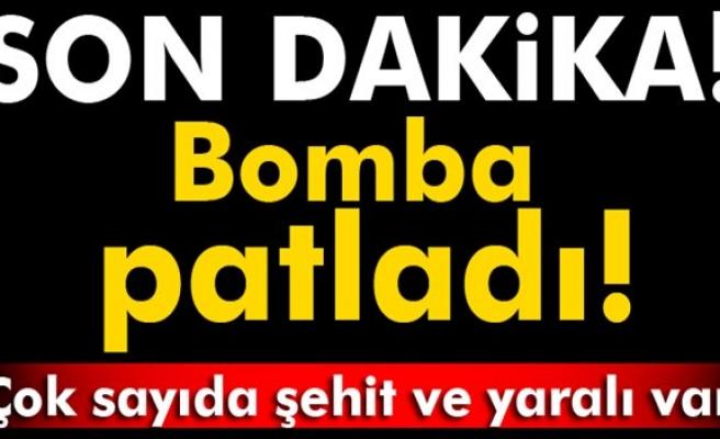Şırnak'ta askeri aracın geçişi sırasında patlama: 5 şehit, 8 yaralı