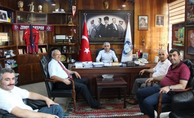 Vatan Partisi Demirci'yi Ziyaret Etti