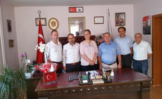 Avrupa Zonguldaklılar derneğinden Başkan Güneş´e ziyaret