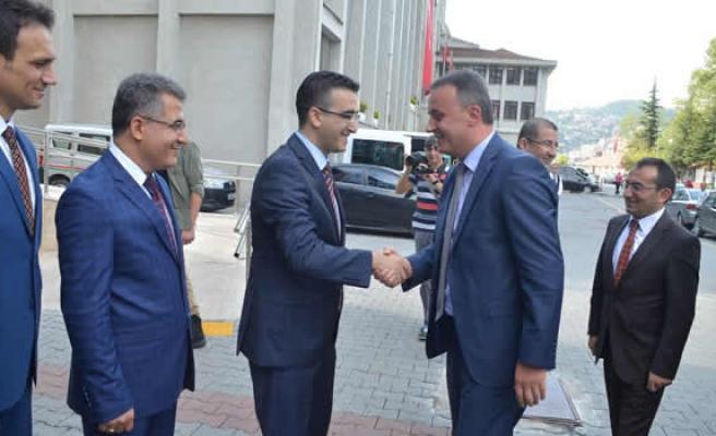 Adalet Bakanlığı Müsteşar yardımcısı Zonguldak'ta