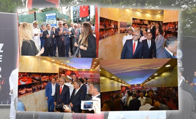 Ereğli´de 15 Temmuz Demokrasi ve Şehitler sergisi açıldı