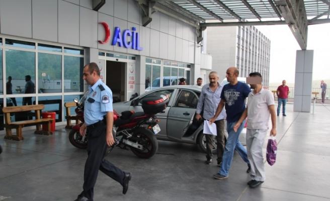 FET֒den gözaltına alınan 3'ü imam 5 kişi adliyeye sevk edildi