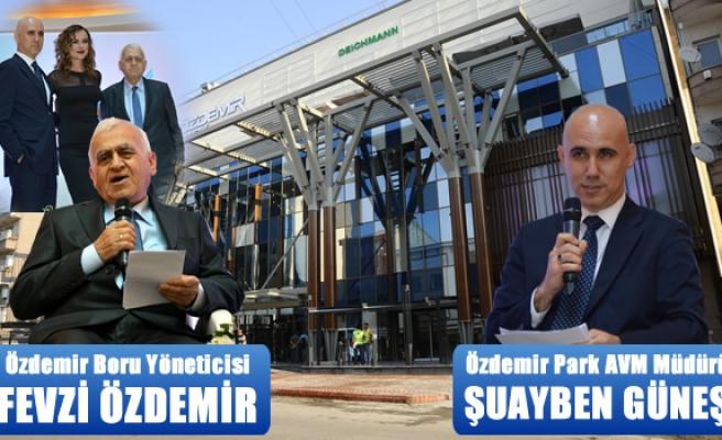 Özdemir Park AVM açıldı