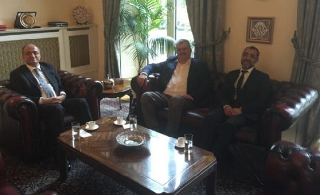 Çaturoğlu, Londra Büyükelçisi Abdurrahman Bilgiç'e ziyaret