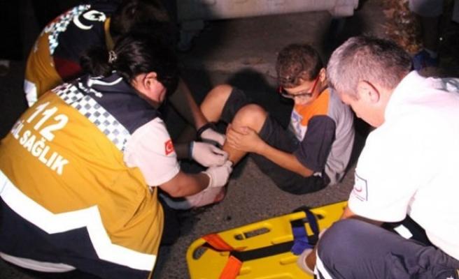 Ereğli´de, sürücü çarptığı çocuğu yaralı halde bırakıp kaçtı