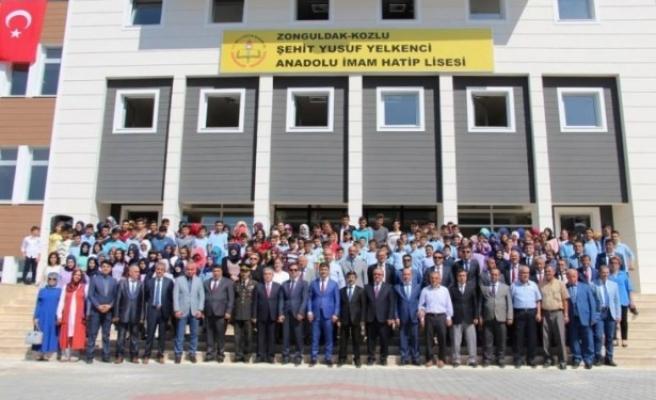 Şehit Yusuf Yelkenci Anadolu İmam Hatip Lisesi açıldı