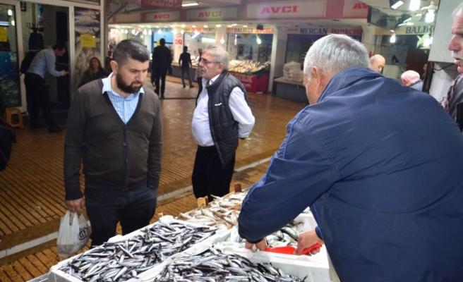 Balığın bol olması hem balıkçıları hem de vatandaşların yüzünü güldürüyor