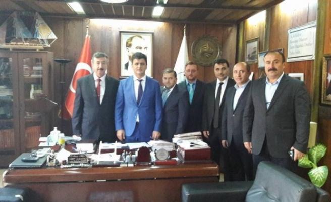 Türksoy, Başkan Şahin'i ziyaret etti