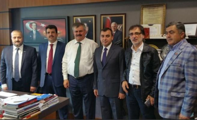 MÜSİAD Zonguldak Şubesinden milletvekillerine ziyaret