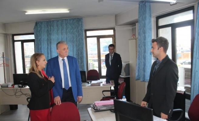 Müsteşar Yardımcısı Konuk'tan SGK'ya ziyaret