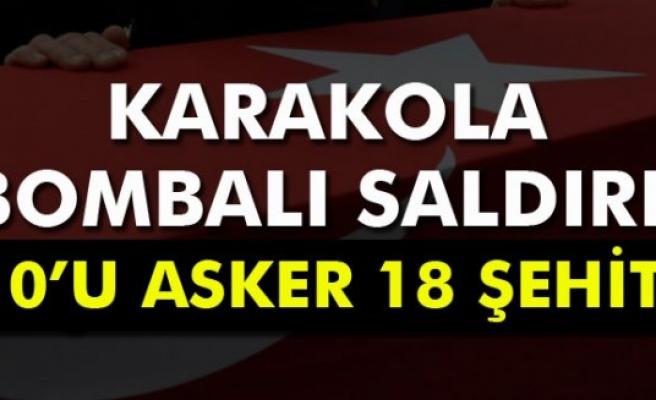 Şemdinli'den kahreden haber: 10´u asker 18 şehit