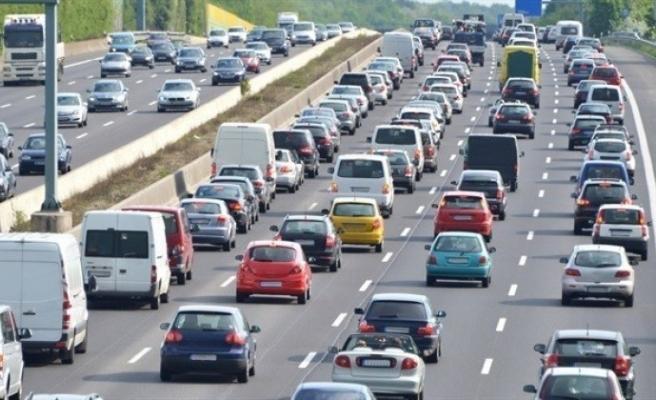 Zonguldak'ta trafiğe kayıtlı 142 bin 583 araç bulunuyor