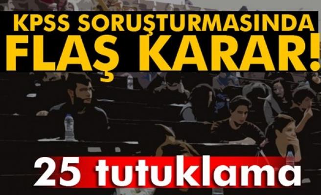 2010 KPSS soruşturmasında 25 tutuklama