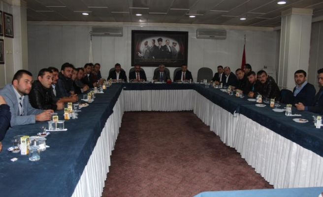 Gmis karadon şube temsilciler kurulu toplandı