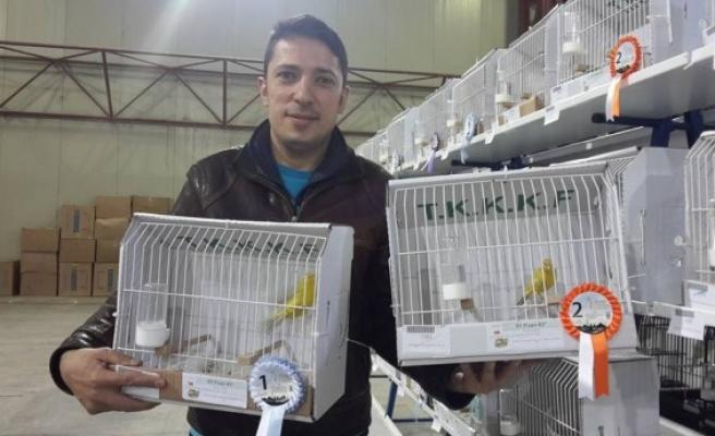 Zonguldak Kuş Üreticileri Derneği, Kocaeli´den madalya ile döndü