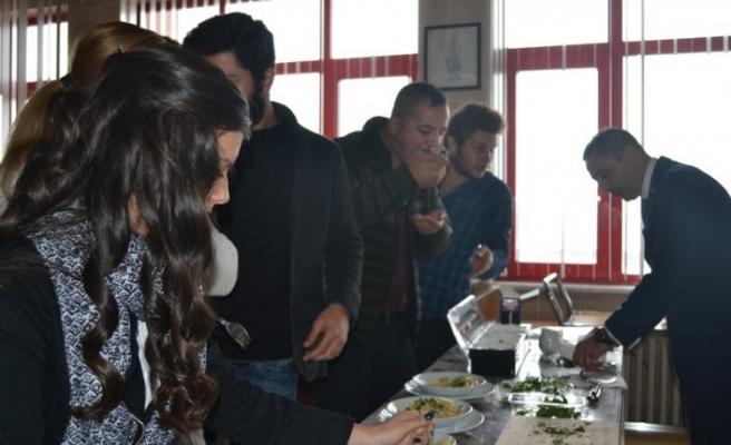 Zonguldak MYO'da yiyecek içecek semineri