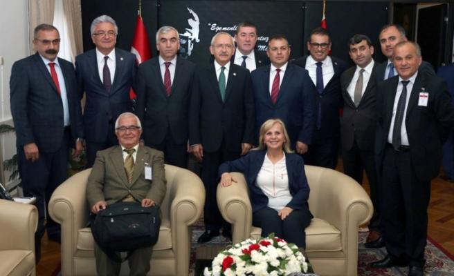 Madenci,CHP  Genel Başkanı Kılıçdaroğlu'nu ziyaret etti