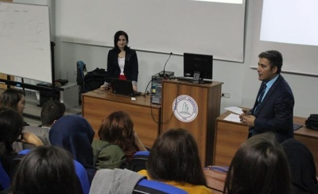 Sağlık Yüksekokulu'nda İş-Kur imkanları konuşuldu