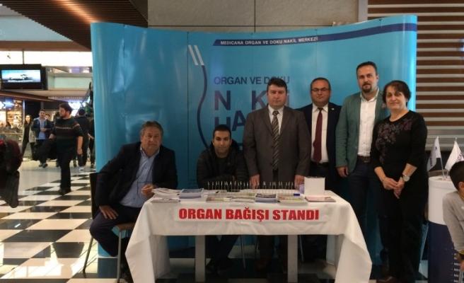 Diyaliz-Organ Nakli Derneğinden organ bağış standı