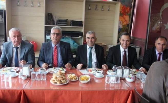 Madenoğlu  ve Uysal GMİS temsilcileri ile buluştu