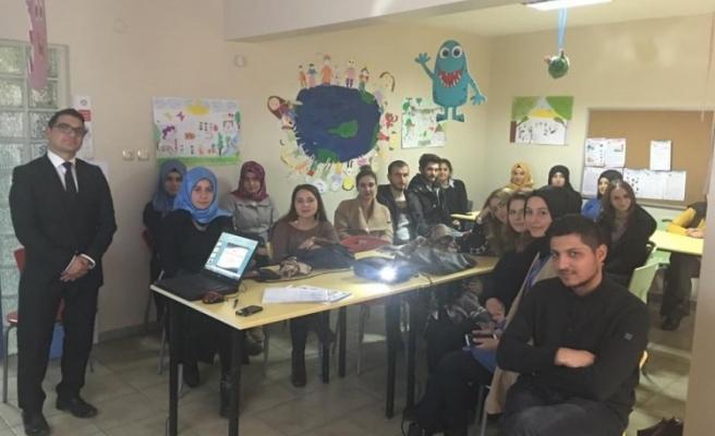 Eğitim Gönüllülerine İŞ-KUR´dan ´İş arama becerileri´ semineri