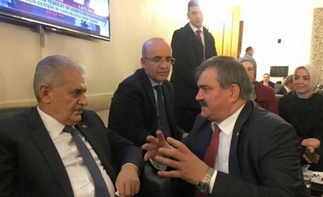 Çaturoğlu, Başbakan Yıldırım ile görüştü