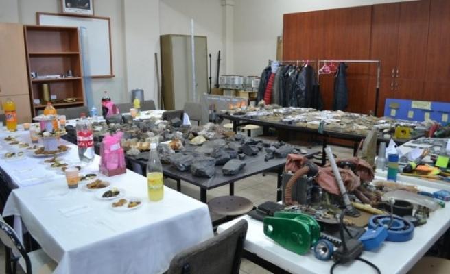 Madencilik ürünleri sergisi açıldı