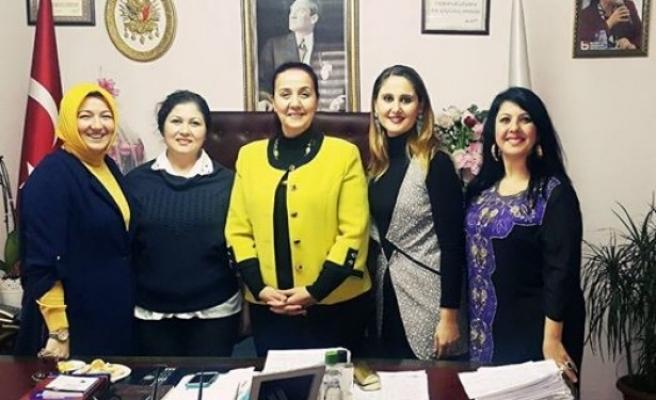 AK Parti yönetiminden Başkan Güneş´e ziyaret