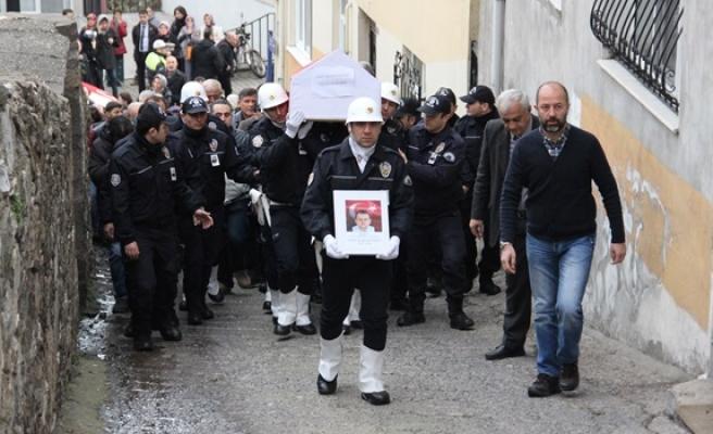 Şehit Polis baba ocağına getirildi