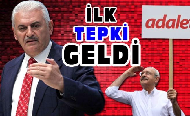 İLK TEPKİ GELDİ...