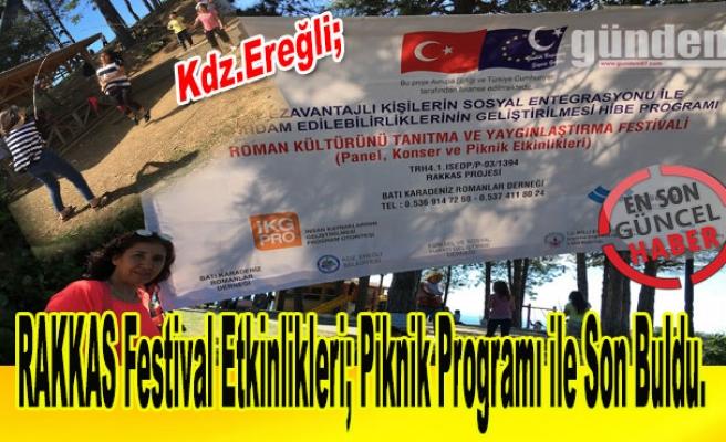 RAKKAS Festival Etkinlikleri; Piknik Programı ile Son Buldu.