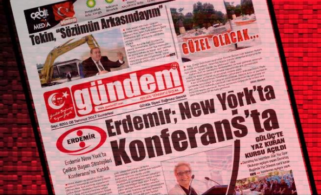 10 Temmuz 2017 Gündem Gazetesi