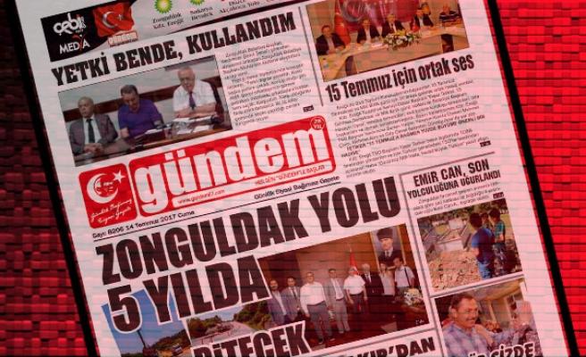 14 Temmuz 2017 Gündem Gazetesi