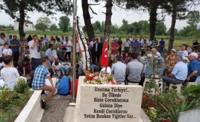 Düzce Milli eğitim camiası 15 Temmuz Şehidini unutmadı