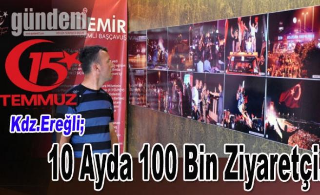 Şehitler Fotoğraf Sergisinde Binlerce Kişi Doldu Taştı..