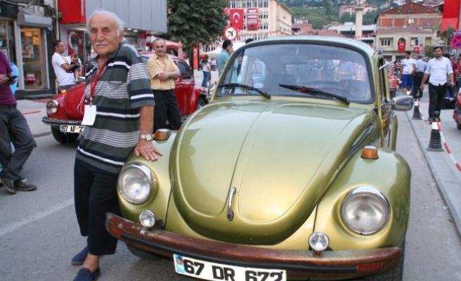 En Yaşlı Woswos Sürücüsü Devrek'ten Geçti