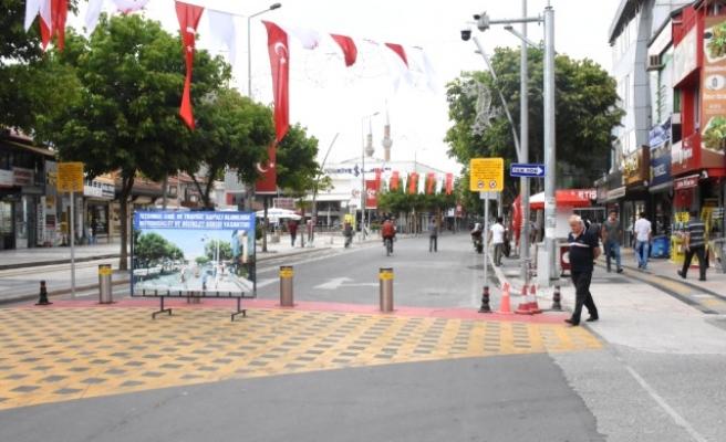 İstanbul caddesinde trafik düzenlemeleri