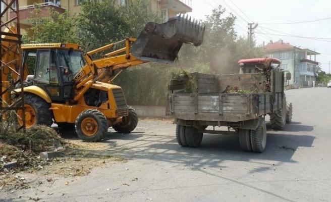 Akçakoca'da Temizlik çalışmaları gece gündüz demeden devam