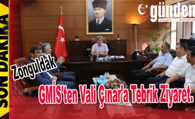 GMİS'ten Vali Çınar'a Tebrik ziyaret
