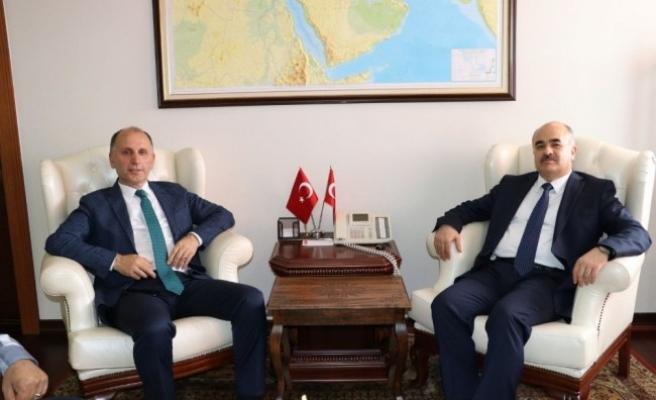 Trabzonspor Başkanı Usta, Düzce'de