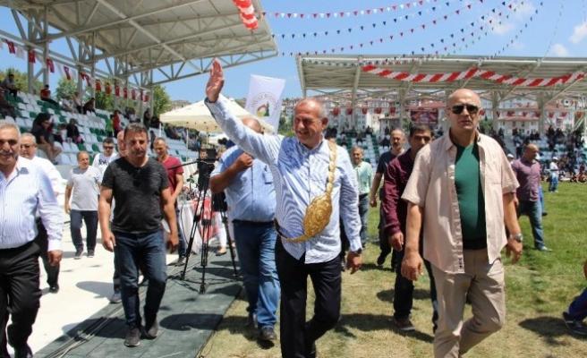 Çolak İsmail Atay Er meydanı törenle açıldı