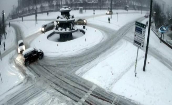 Karabük'te Trafik kazaları MOBESE kameralarında