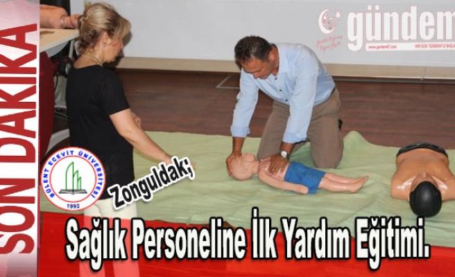 BEÜ; Sağlık personeline ilk yardım eğitimi