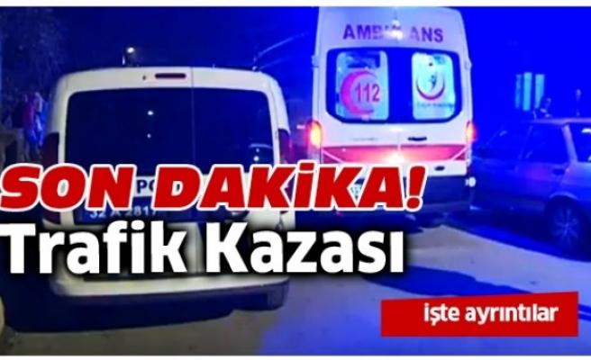 Bartın'da Kontrolden Çıkan Otomobil Kaza Yaptı: 3 yaralı