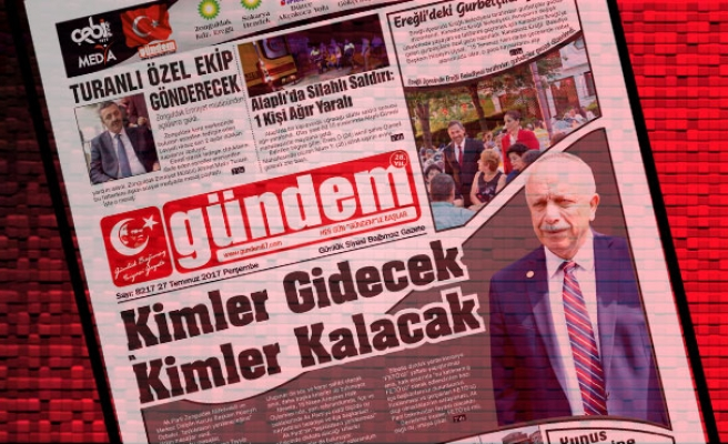 27 Temmuz 2017 Gündem Gazetesi