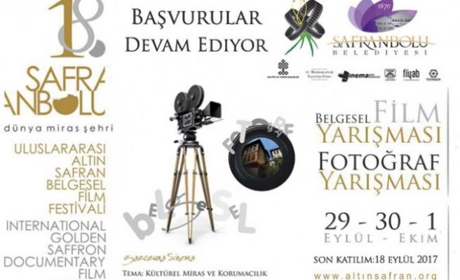 Altın Safran Belgesel Film Festivali için Başvurular