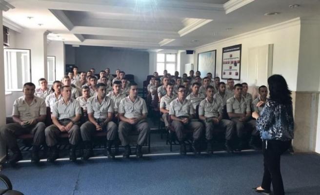 Jandarma Erlerine Madde Bağımlılığı Eğitimi