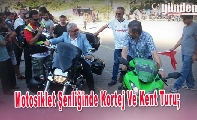Kozlu'da Motosiklet Şenliğinde Kortej Ve Kent Turu