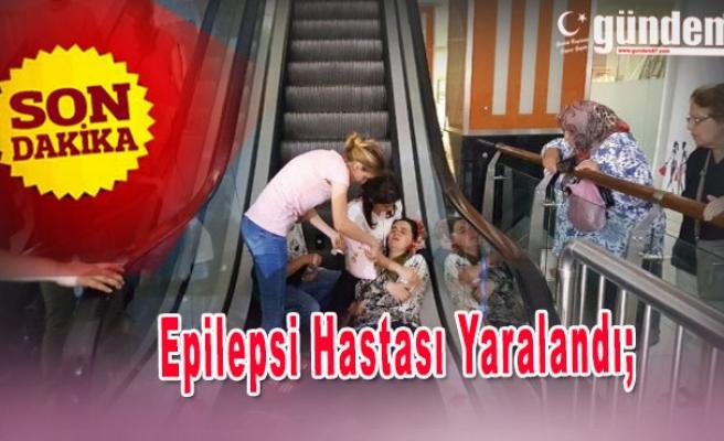 Epilepsi Hastası Yaralandı