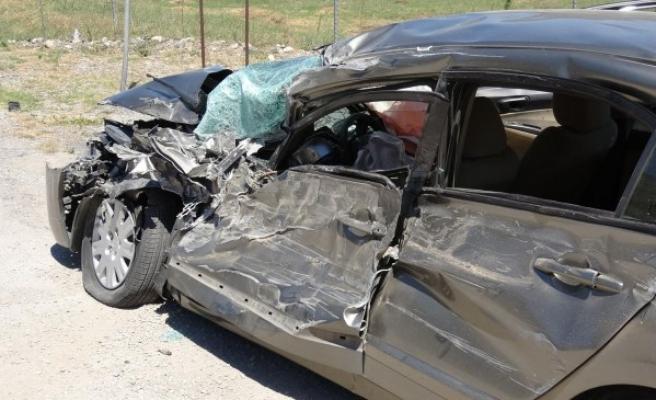 Eskipazar ilçesinde Trafık Kazası: 3 Yaralı